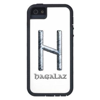 Hagalaz rune symbol case for iPhone SE/5/5s