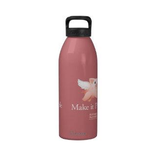 Hágale el frasco posible de la bebida botellas de agua reutilizables