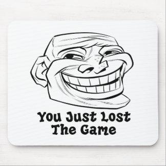 Hágale frente apenas The Game perdido Alfombrillas De Raton