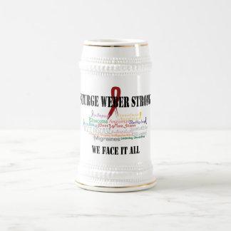Hágale frente todo jarra de cerveza