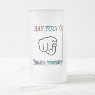 hágale heno taza