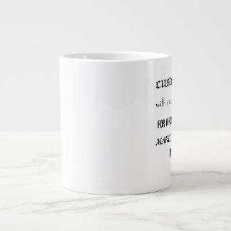 Hágale la taza personal del jumbo de 20 onzas taza grande