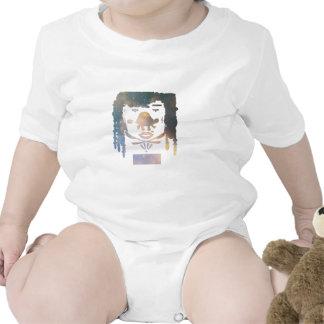 Hágale nebulosa de la tortuga traje de bebé