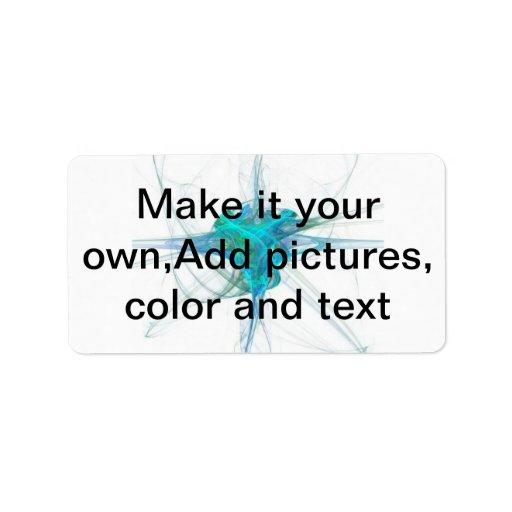 Hágale sus los propios, añada las imágenes, el col etiqueta de dirección