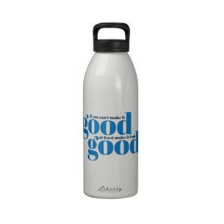 Hágalo bueno Inspirado y de motivación Botellas De Beber