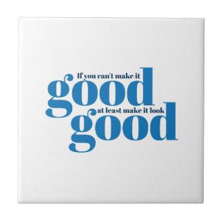 Hágalo bueno Inspirado y de motivación Tejas Ceramicas