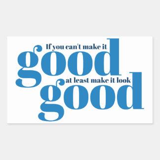 Hágalo bueno Inspirado y de motivación Rectangular Altavoz