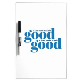 Hágalo bueno Inspirado y de motivación Tablero Blanco