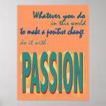 Hágalo con el poster de la pasión