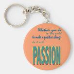 Hágalo con llavero de la pasión