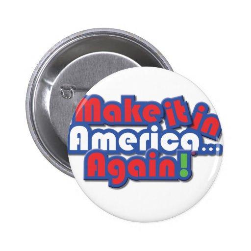 ¡Hágalo en América! Pins