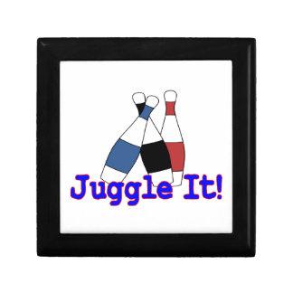 Hágalo juegos malabares juglar cajas de regalo