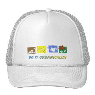 Hágalo orgánico gorras