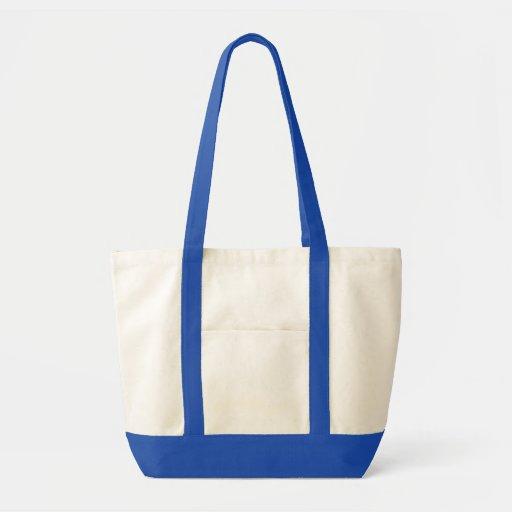HÁGALO USTED MISMO azul real de la bolsa de asas p