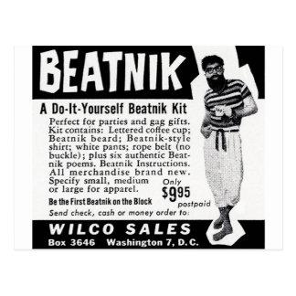 Hágalo usted mismo equipo del Beatnik Tarjetas Postales
