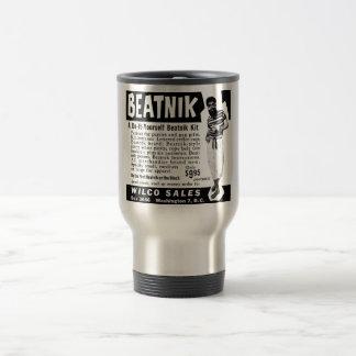 Hágalo usted mismo equipo del Beatnik Taza De Viaje