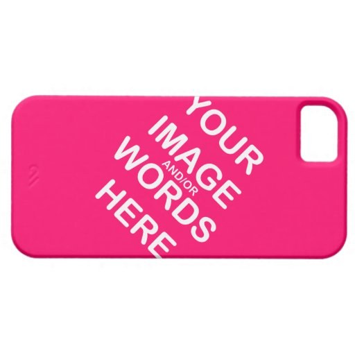Hágalo usted mismo estuche de plástico Barely iPhone 5 Fundas