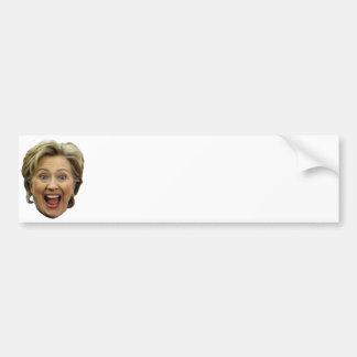 Hágalo usted mismo Hillary Pegatina Para Auto