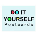 HÁGALO USTED MISMO - navidad de la postal