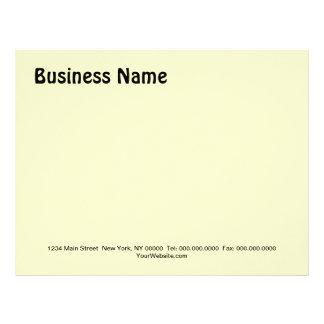 HÁGALO USTED MISMO negocio del ~/papel con Membretes Personalizados