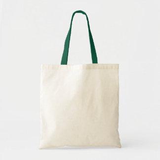 HÁGALO USTED MISMO verde de la bolsa de asas del p