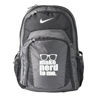 Hágame al empollón mochila