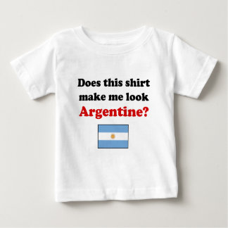 Hágame el niño de Argentina de la mirada/la ropa Playera De Bebé