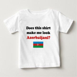 Hágame la mirada ropa azerbaiyana del niño/del playera de bebé