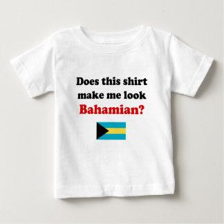 Hágame la mirada ropa bahamesa del niño/del niño playera de bebé