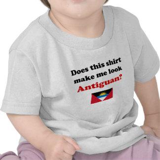 Hágame la mirada ropa de Antigua del niño/del niño Camiseta