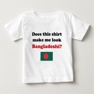 Hágame la mirada ropa de Bangladesh del niño/del Playera De Bebé