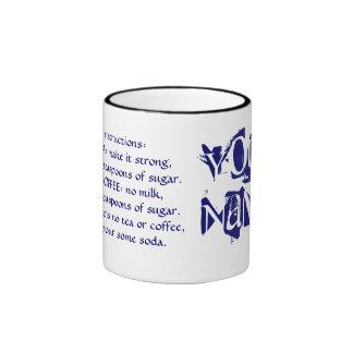 Hágame la taza del té con instrucciones