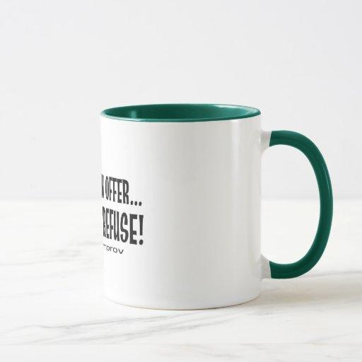 Hágame un café… taza