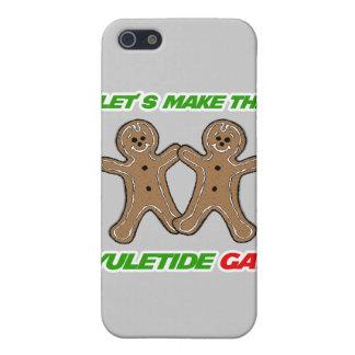 HAGAMOS AL GAY DE YULETIDE - .PNG iPhone 5 COBERTURA