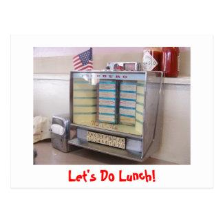 ¡Hagamos el almuerzo! Postal