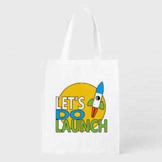 Hagamos el lanzamiento bolsas reutilizables