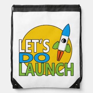 Hagamos el lanzamiento mochila