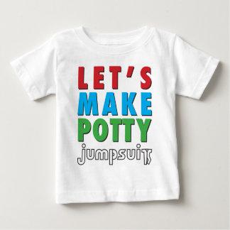 ¡Hagamos el Potty! Playera De Bebé