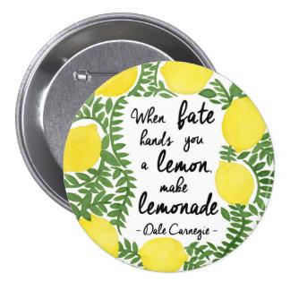 Hagamos la limonada pins