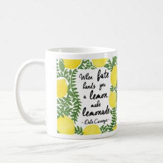Hagamos la limonada tazas