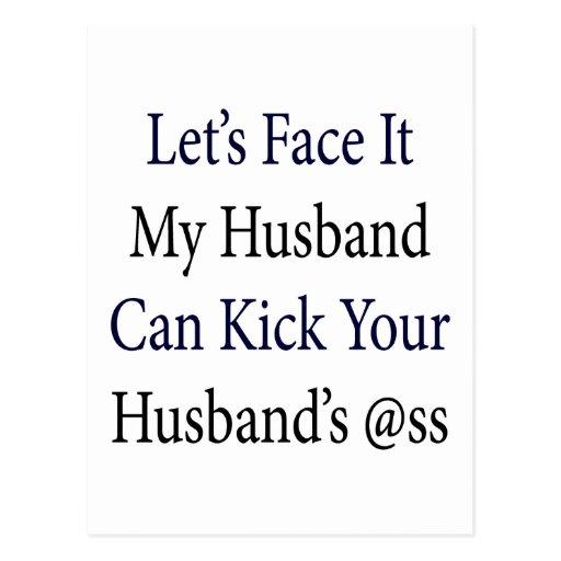 Hagámosle frente que mi marido puede golpear la A Postal