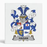 Hagan Family Crest 3 Ring Binders
