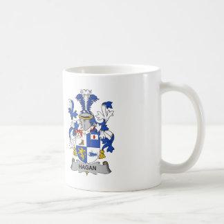 Hagan Family Crest Classic White Coffee Mug