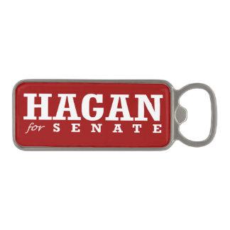 HAGAN FOR SENATE 2014 MAGNETIC BOTTLE OPENER