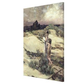 Hagar and Ishmael Canvas Print