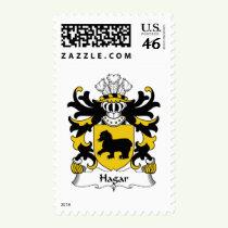 Hagar Family Crest Stamps