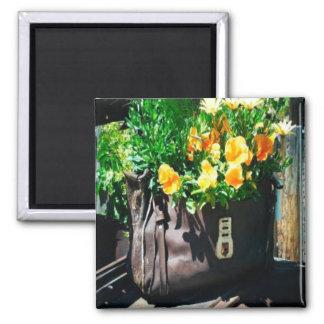 Hagbag Flower Fridge Magnet