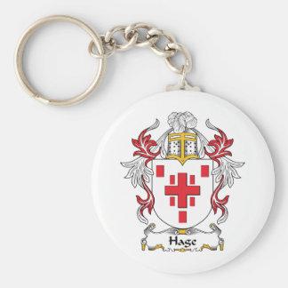 Hage Family Crest Keychain