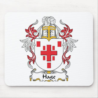 Hage Family Crest Mouse Pads