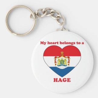 Hage Key Chain